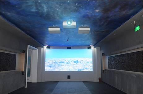 索尼案例投影机水利探访成都某展厅工程企业长江v案例建筑设计局图片